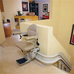 Elite Curved Stairlift - Image Number 94045