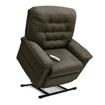 Heritage Collection, 3-Position Full Recline, Chaise Lounger Lift Chair, LC 358PW - This LC-358PW Lift Chair from the Heritage C