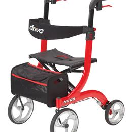 Nitro Rollator  Red - Image Number 62839