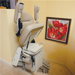 Elite Curved Stairlift - When you need a stairlift that curves, you need a Bru