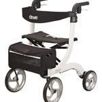 Rollators - Drive Medical - Nitro Rollator  White