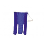 "Terry Cloth Coverd Sock Aid - 32"" straps w/loop handles