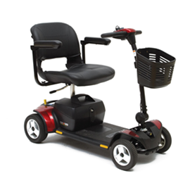 Go-Go Elite Traveller® Plus 4-Wheel Scooter - Image Number 42955