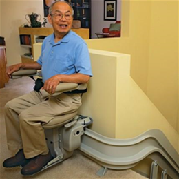 Elite Curved Stairlift - Image Number 94046