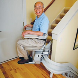 Elite Curved Stairlift - Image Number 94044