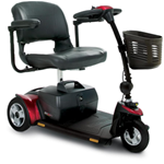 Go-Go Elite Traveller® 3-Wheel Scooter - The compact design of the Go-Go Elite Traveller®